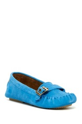 Bearpaw Brooke Buckle Driving Loafer Blue