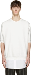 3.1 Phillip Lim Ivory And White Layered Sweatshirt
