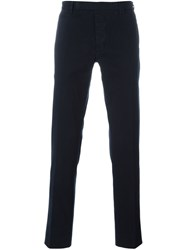 Fendi Slim Chino Trousers Blue