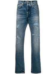 Edwin Ed 55 Tapered Jeans Blue