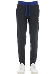Emporio Armani Train 7 Cotton Blend Sweatpants Navy