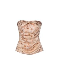 Elisabetta Franchi Topwear Tube Tops Women Light Pink