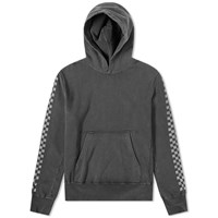 Remi Relief Checkerboard Taped Hoody Grey