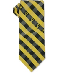 Eagles Wings Pittsburgh Pirates Checked Tie Team Color