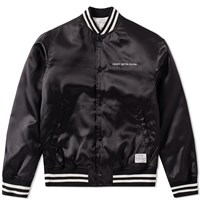 Neighborhood C.W.P. Baseball Jacket Black