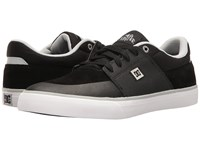 Dc Wes Kremer Black Grey White Men's Lace Up Casual Shoes