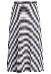 Anna Field Maxi Skirt Black White