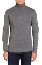 Slate And Stone Men's Merino Wool Blend Turtleneck Sweater