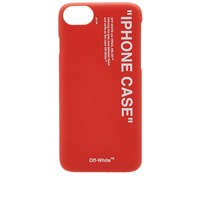 Off White Quote Iphone 8 Case Red