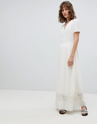 Suncoo Ethereal Maxi Dress Cream