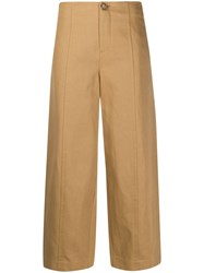 Vince Cropped Wide Leg Trousers 60