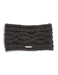 Michael Michael Kors Cable Knit Headband Grey