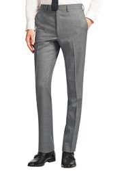 John Lewis Kin By Clifton Slim Fit Suit Trousers Light Grey