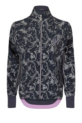 Elle Sport Reflectology Print Batwing Jacket Multi Coloured Multi Coloured