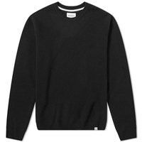 Norse Projects Sigfred Lambswool Crew Knit Black