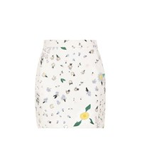 Thom Browne Embellished Cotton Skirt Multicoloured