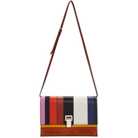 Proenza Schouler Multicolor Small Patchwork Lunch Bag