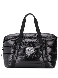 Moncler Maine Quilted Weekend Bag Black