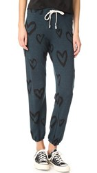 Sundry Hearts All Over Sweatpants Spring Black