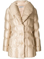 Issey Miyake Vintage Padded Jacket Nude And Neutrals