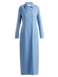 The Row Tralty Cashmere Coat Blue