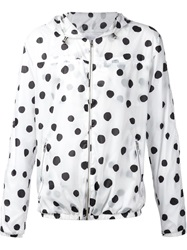 Stampd Polka Dot Hooded Jacket White