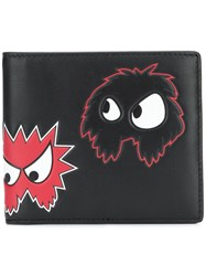 Mcq By Alexander Mcqueen Rave Monster Wallet Black
