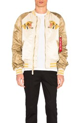 Alpha Industries Tiger Souvenir Jacket Beige
