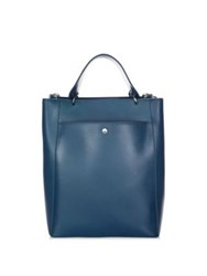 Elizabeth And James Eloise Large Leather Tote Peacock