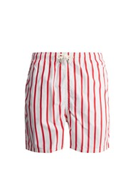 Solid And Striped The Classic Swim Shorts Red
