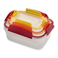 Joseph Joseph Nest Lock Compact Storage Containers Multicolour Set Of 3