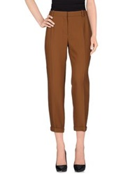 Carven Casual Pants Brown