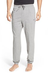 Boss Men's Stretch Cotton Lounge Pants Medium Grey