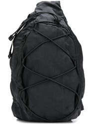 C.P. Company Cp One Shoulder Backpack Black