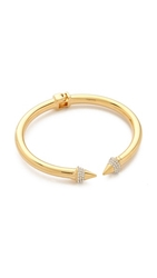 Vita Fede Mini Titan Crystal Bracelet Gold Clear