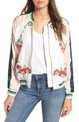 Paul And Joe Sister Women's Lesfleurs Bomber Jacket Ecru