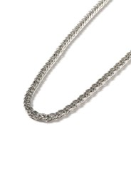 Topman Silver Look Chunky Chain Necklace