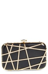 Natasha Couture 'Deco' Crystal Box Clutch
