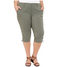 Columbia Plus Size Saturday Trail Ii Knee Pant Cypress Women's Capri Green