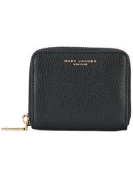 Marc Jacobs Zip Around Purse Women Leather One Size Black