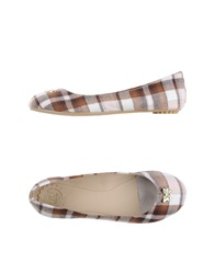 Atelier Fixdesign Ballet Flats Brown