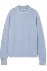 Tibi Cutout Alpaca Blend Sweater Lilac