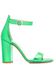 Fabio Rusconi Scot Block Heel Sandals Green