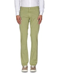 Trussardi Jeans Trousers Casual Trousers Men Military Green