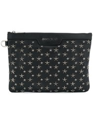Jimmy Choo Derek Clutch Bag Black