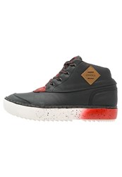 O'neill Gnarly Firewall Winter Boots Black Fire Red
