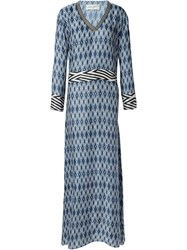 Antonia Zander 'Bari' Long Dress Blue