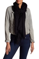 Zadig And Voltaire Deluxe Cashmere Scarf Black