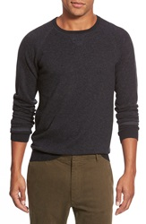 Relwen 'Wooly' Merino Wool Crewneck Sweater Charcoal