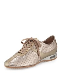 Air Bria Perforated Oxford Sneaker Vintage Silver Cole Haan